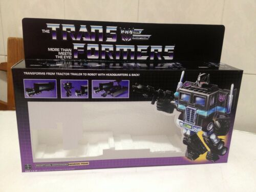 Transformers G1 Nemesis Prime and Styrofoam Custom