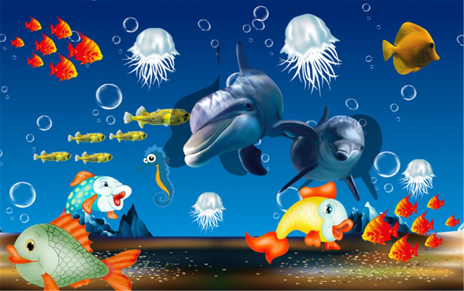 3D Karikatur Karikatur Karikatur Meer Tiere 7933 Tapete Wandgemälde Tapeten Bild Familie DE Lemon | Haltbar  | Perfekt In Verarbeitung  |  ae60c3