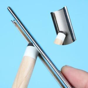 Stainless-Steel-Leather-Sander-Billiard-Pool-Cue-Tip-Repair-Tool-Burnisher-Tool