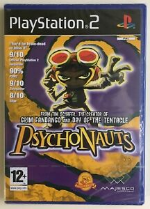 Psychonauts-Playstation-2-Factory-Sealed-Very-Rare-PAL-Sony-Seal-Brand-New