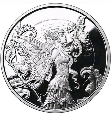 """1 OZ .999 PURE SILVER PROOF ROUND COIN /"""" SECOND COUSINS /"""" AMY BROWN BULLION COA"""