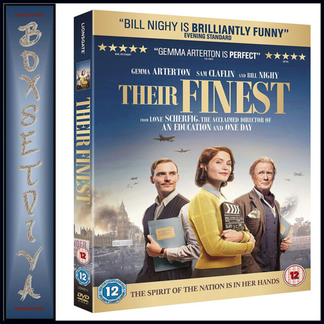 THEIR FINEST -  Gemma Arterton & Sam Claflin  *BRAND NEW DVD***