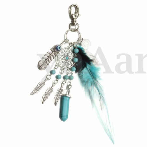 Dream Catcher Keyring Dreamcatcher Lucky Charm Purse Bag Key Chain Ring   !