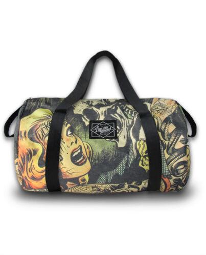B duf Horror 034 Rock Inchiostro Punk Brand Liquor Tattoo Donna Borsa CwRqH8FHx