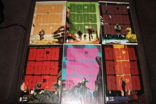DEAD BODY ROAD #16 NM JUSTIN JORDAN IMAGE COMICS