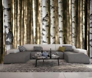 papier peint 3d trompe l oeil moderne photo murale 3d nature 012 ebay. Black Bedroom Furniture Sets. Home Design Ideas