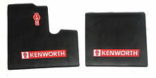 Kenworth Rubber Truck Floor Mats OEM W/Logo for all T600 T800 W900 to year 2000