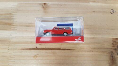 rojo Herpa 420549-1//87 Wartburg 353/' 66 turista con techo carpa en el estado de conducción