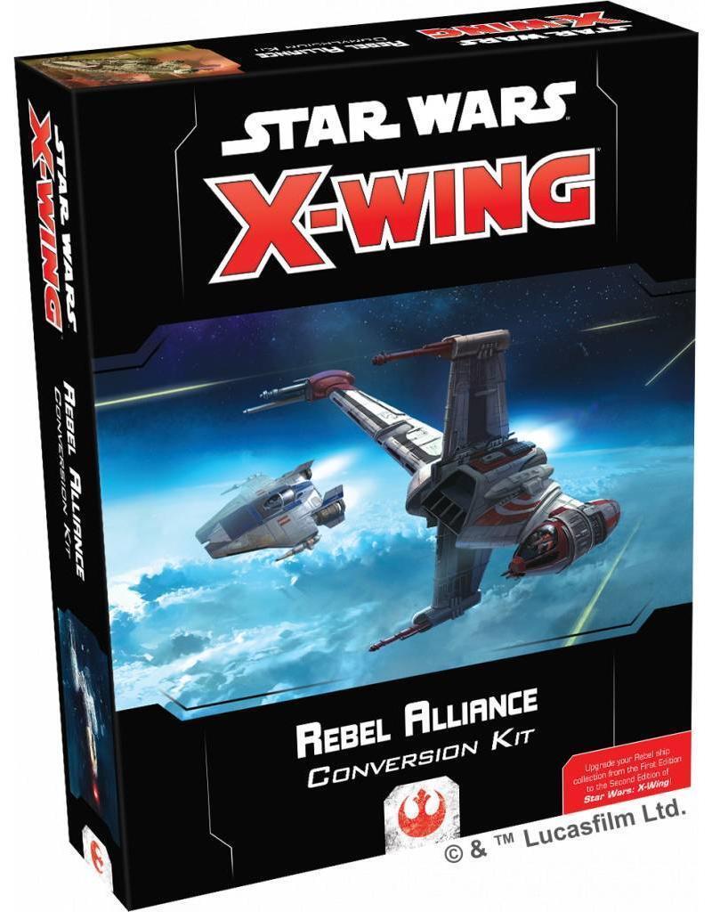 Fantasy Flight Star Wars X-Wing NEW 2.0 Rebel Conversion Kit BNIB