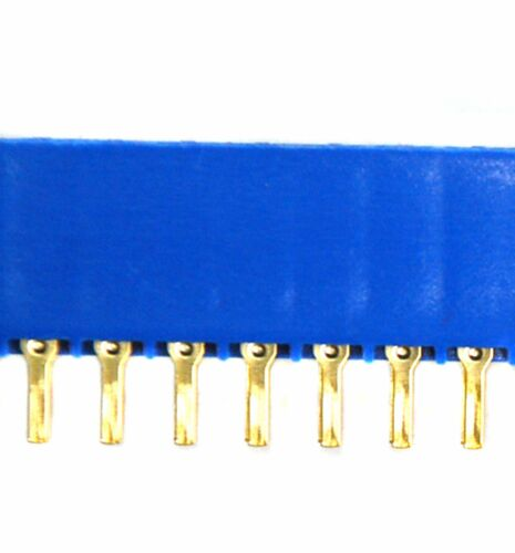 5pc Card Edge Connector LW-N20A2G 20Px2 40P Pitch 3.96mm Slot Socket PCB pin UL