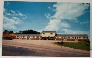 Pittsburgh-and-Butler-Pa-BUSKEY-039-S-MOTEL-Pennsylvania-Turnpike-Postcard-C24