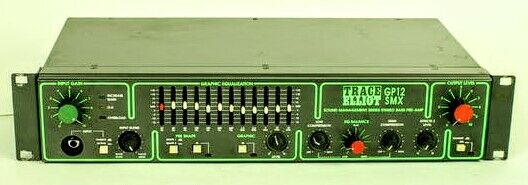 Trace Elliot GP12 SMX Bass Preamp Rare HTF Rackmount . Buy it now for 500.00