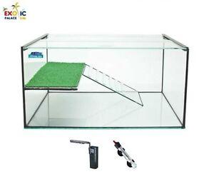 Tartarughiera florida pompa filtro riscaldatore in vetro for Filtro per acquario tartarughe