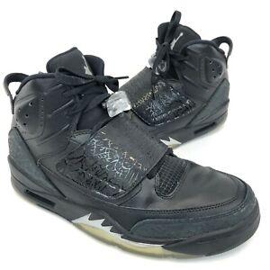 41051a0cb1ead9 Nike Air Jordan Son of Mars 512245-010 Black Cat Retro Metallic Mens ...