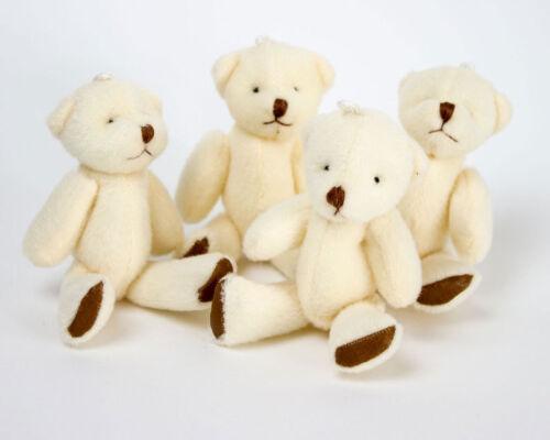 Geburtstag Geschenk Präsent 26 Stück Neu Süßer Kleiner Weicher Teddybär