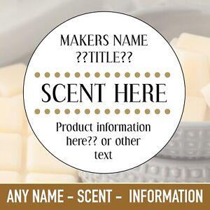 Customised wax melt scented wax melt handmade candle soy wax melt