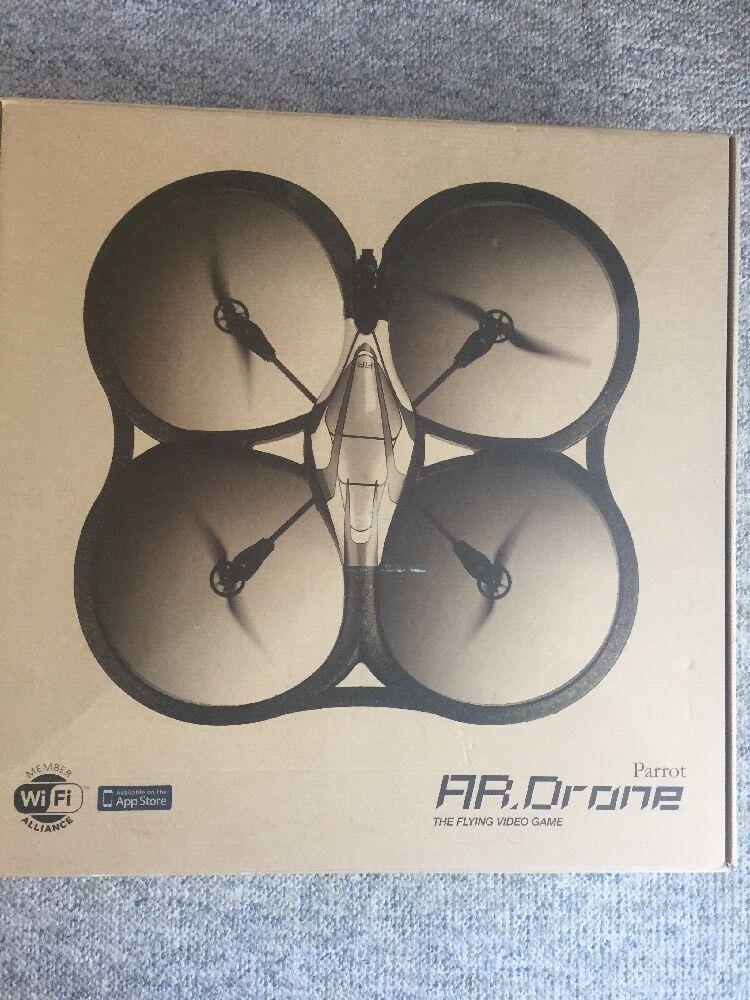 Der papagei drohne 1,0 quadcopter air base flying videospiel neuen batterie