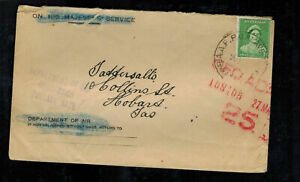 1940s-Royal-Australia-Air-Force-PO-RAAF-Cover-to-Hobart-Tasmania-OHMS