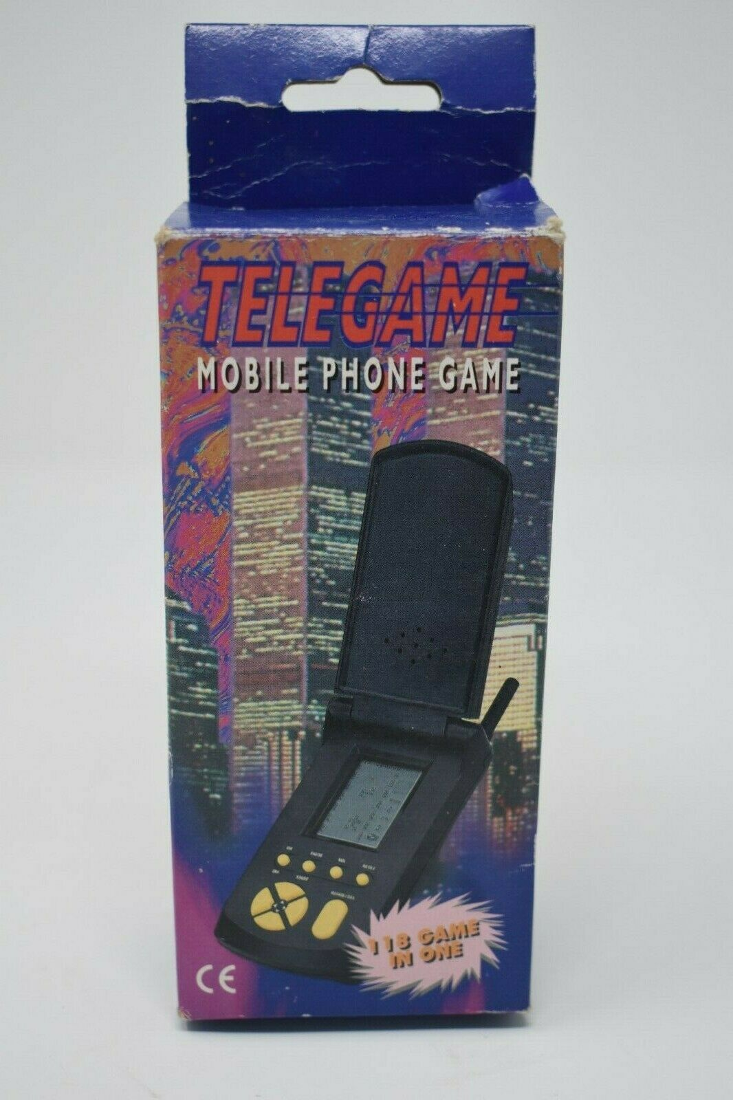 Vintage TELEGAME Mobile Phone Game 118 Game in One