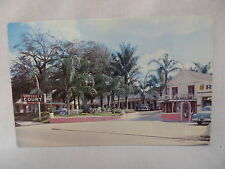 VINTAGE PHOTO POSTCARD CORDREY'S COURT MOTEL IN OCALA FLORIDA 1953