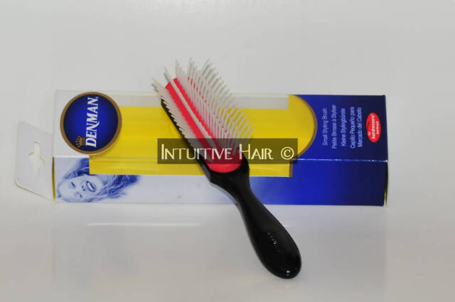 "DENMAN ""D-14"" DENMAN purse size 5-row hair brush, Classic styling brush"