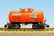 USA Trains G Scale Beer Can Tank Car R15206  Hooker Chemicals - Orange, Black