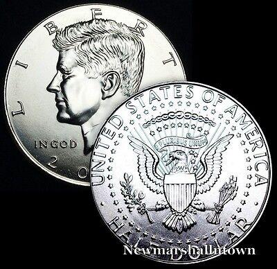 2011 2012 2013 2014 2015 P+D Kennedy Half Dollar Uncirculated Mint Roll Set