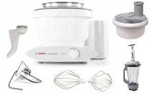 Details about Bosch Universal Plus 800W 6.5 Qt Kitchen Mixer with  Spiralizer & Vacuum Blender