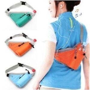 Jogging Fitness Exercise Waist Belt Bag Money Wallet Mobile Keys Headphone