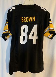 Nike NFL Jersey Antonio Brown #84 Pittsburgh Steelers - XL 18/20