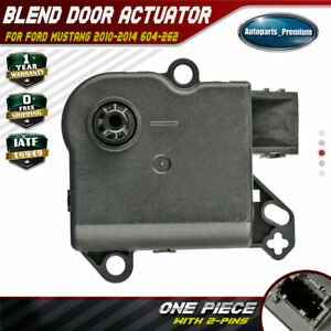 A-Premium HVAC A//C Heater Blend Air Door Tempareture Actuator Replacement for Ford Mustang 2010-2014 Coupe Convertible