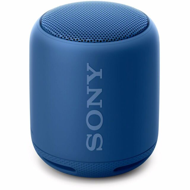 Sony SRS-XB10 EXTRA BASS Splash-proof Wireless Speaker (Bluetooth/NFC) Blue