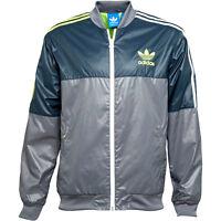 adidas wet look track jacket nylon 90s vtg vintage glanz shiny new  / S