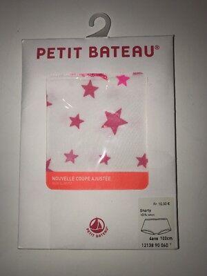 Petit Bateau Girls 2 pk Underwear Pink//Grey 4 Years