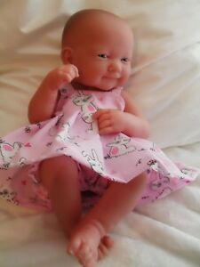 "14"" PINNY DRESS DOLLS CLOTHES OUTFIT FIT LITTLE BABY BORN FIRST ANNABELL"