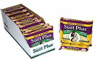 Suet Plus Nuts & Berry Blend Suet Cake, Case Of 12, New, Free Shipping on sale