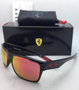 Scuderia Ferrari Oakley Sunglasses Twoface Oo9189 36 Black Red Ruby Iridium Lens 88839260345 Ebay