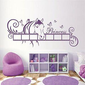 Kinderzimmer Pferd | Wandtattoo Wandaufkleber Pferd Rahmen Bilder Kinderzimmer Deko Motiv
