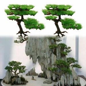 Aquarium Plant Tree Bonsai Fish Tank Plastic Artificial Landscape Decoration 6040415445632 Ebay