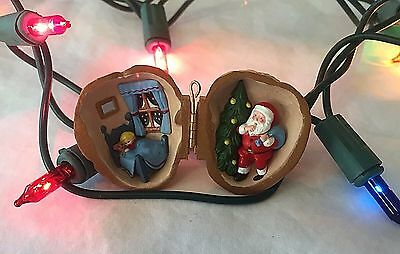 Nutshell Dreams Hallmark Christmas Keepsake Ornament Santa Teddy Sleeping Blonde