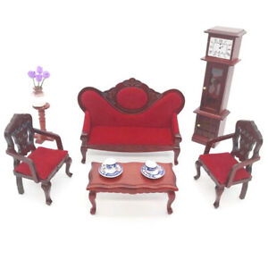 1Set-1-12-Scale-Dollhouse-Miniature-Sofa-Set-Doll-House-Living-Room-Model-Toy-u