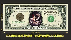 WHITESNAKE-IMAN-BILLETE-1-DOLLAR-BILL-MAGNET