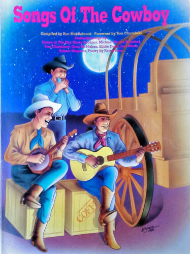 SONGS OF THE COWBOY - 96 PAGE SONGBOOK - 1990