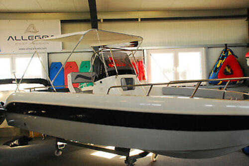 2-Stangen Bimini Top Höhe 110cm Breite 150-165cm Farbe weiß B-Ware