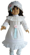"""Victorian Lawn Party Dress fits 18"""" American Girl Samantha Doll Clothes"""