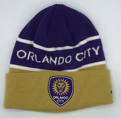Basketball Memorabilia Mls Orlando City Sc Cuffed Winter Knit Cap Hat Beanie Style #kx09z New Aesthetic Appearance
