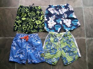 Baby-Boy-039-s-Summer-Boardshorts-Shorts-x-4-Incl-Pumpkin-Patch-Size-0-VGUC