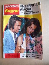 I Racconti di SOGNO n°97 1973 Mina Alessandro Momo Rivera ed. Lancio  [G579]