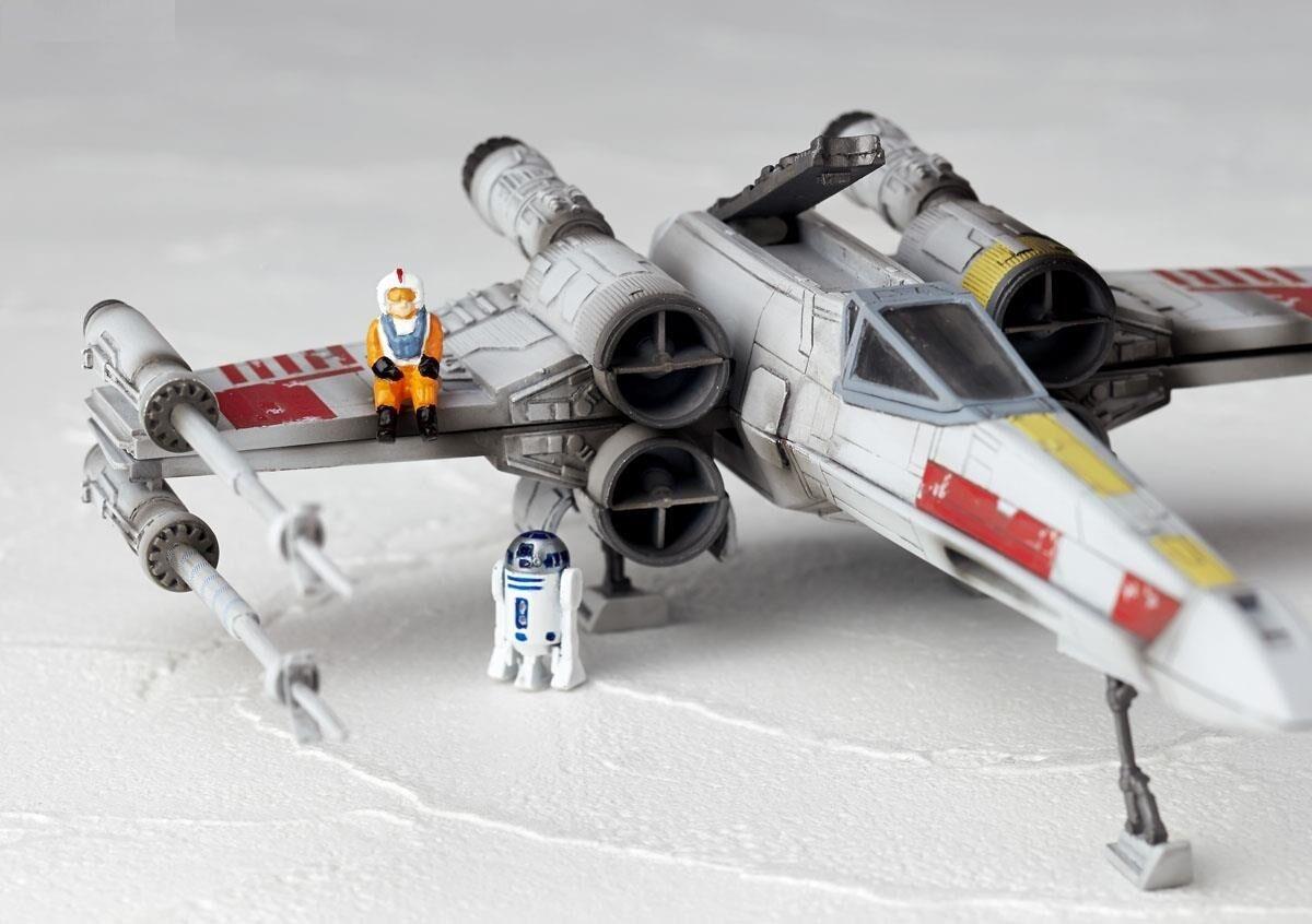 Kaiyodo Revoltech Star Star Star Wars Revo X-Wing Fighter Starfighters Figures Model 41ef9b