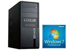 PC KOMPLETT Computer Intel Quad Core 16GB RAM 1000GB USB 2.0 3.0 - Win7 Prof.
